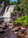 High Falls of Baptism River at Tettegouche State Park 5 Stock Image