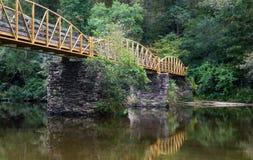 High Falls Bridge royalty free stock photo