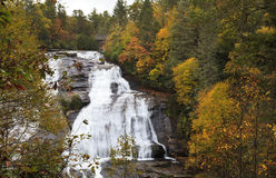 High Falls in Dupont Royalty Free Stock Images