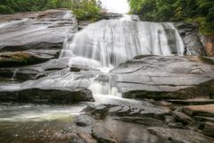 High Falls DuPont State Forest Royalty Free Stock Photos