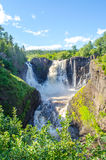 High Falls of the Pigeon River Stock Photo
