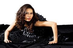 High fashion asian model Royalty Free Stock Photo