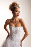 High fashion bride Stock Photography