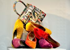 High fashion Italian shoes Stock Image