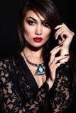 stylish Caucasian young model Royalty Free Stock Image