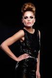 Sexy stylish Caucasian young model Royalty Free Stock Photo
