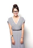 High fashion look.glamor stylish beautiful young woman model Stock Photo