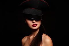 Free High Fashion Look. Glamour Portrait Of Beautiful Royalty Free Stock Image - 24837406