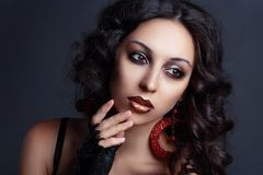 High fashion model Royalty Free Stock Images