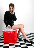 High-fashion shopper Stock Photos