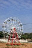 High ferris wheel  and blue sky Royalty Free Stock Photo
