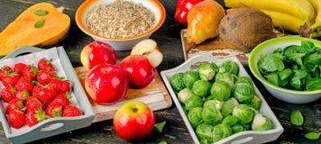 High Fiber Foods Stock Photos
