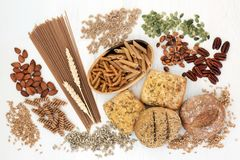 High Fiber Health Food royalty free stock image