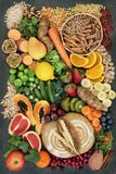 High Fibre Health Food stock images