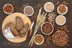 High Fibre Health Food stock photos