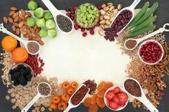 High Fibre Super Food stock images