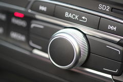 High fidelity car sound system Stock Images