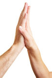 High Five Stock Image