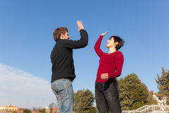 High Five Royalty Free Stock Image