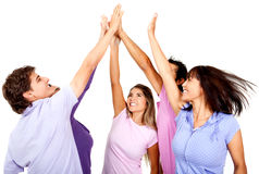 High-five Royalty Free Stock Images