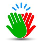 High Five Icon - for stock stock illustration