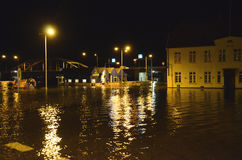 High Flood. royalty free stock images