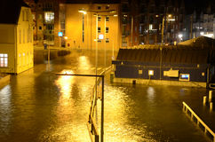 High Flood. stock image