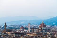 High Florence skyline Stock Photo