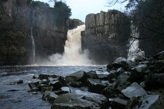 High Force On River Tees Stock Photo