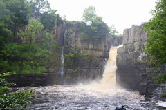 High Force waterfall Royalty Free Stock Images