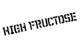 High Fructose rubber stamp. Grunge design with dust scratches. Effects can be easily removed for a clean, crisp look. Color is easily changed Royalty Free Stock Photo