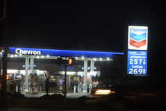 HIGH GAS PRICE IN BURKLEY Royalty Free Stock Photography