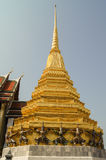 High gilded stupa Royalty Free Stock Images