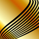 High grade gold metal background Royalty Free Stock Images