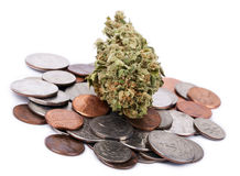 Marijuana & Change stock image