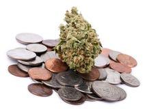 Marijuana & Change Stock Image