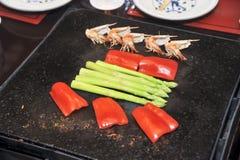 High grade Teppanyaki Stock Images