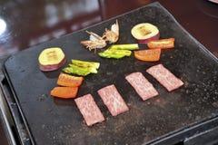 High grade Teppanyaki Stock Image