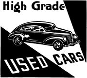 High Grade Used Cars 3 Royalty Free Stock Photo