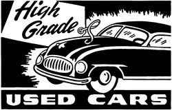 High Grade Used Cars 4 Stock Image
