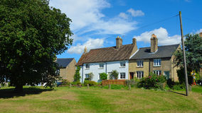 High Green Cottages Abbotsley Cambridgeshire. Royalty Free Stock Photography