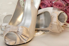 High Heel. A pair of women high heel shoes Royalty Free Stock Photos