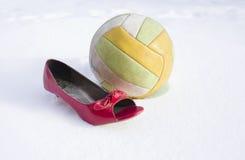 High Heel And Ball Stock Photos