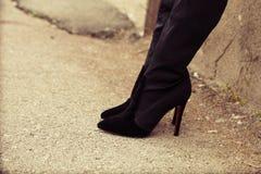 High heel boots Royalty Free Stock Photos