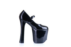 High heel fetish shoe Royalty Free Stock Photo