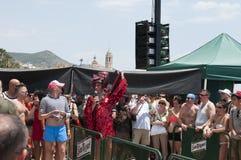 High Heel Race, Sitges Royalty Free Stock Photos