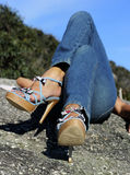 High Heel Relaxation royalty free stock images