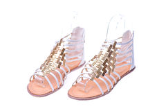 High heel Romans shoes Stock Photo