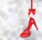 High heel shoe Stock Photography