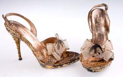 High heel shoes Stock Image